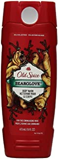 Old Spice Wild Collection Bodywash, Bearglove 16 oz (Pack of 2)