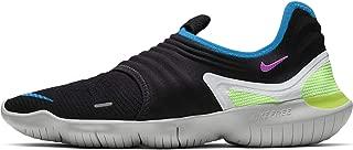 Nike Men's Free RN Flyknit 3.0 Black/Hyper Violet Knit Running Shoes 11.5 M US