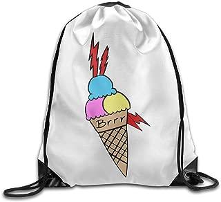 Hgfif Gucci Mane Ice Cream Tattoo Drawstring Backpack Cool Sports String Bag