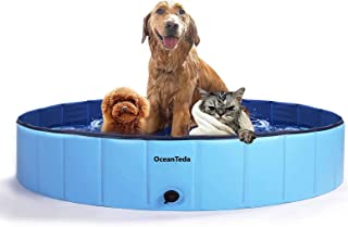 OceanTeda Foldable Dog Pool for Large Dogs,Portable Pets...