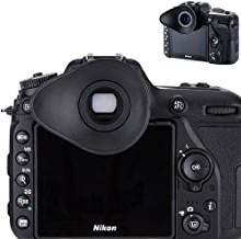 JJC Eyecup Eyepiece Viewfinder Eyeshade for Nikon D3500 D7500 D7200 D7100 D7000 D5600 D5500 D5300 D5200 D5100 D5000 D3400 D3300 D3200 D750 D610 D600 D300S Replaces Nikon DK-25 DK-22 DK-24 23 21 20 28
