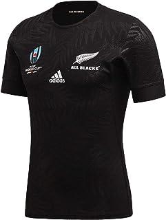 [アディダス] ラグビー オールブラックス RWC オーセンティックジャージ 半袖シャツ FXK13 [メンズ]