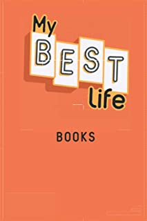 2021 Diary MY BEST LIFE: with BOOKS - Weekly and Monthly Planner - Diary 2021 week to view – Pocket diary 2021 To Do List ...