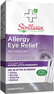 Allergy Eye Relief Eye Drops Single-Use 20 Doses