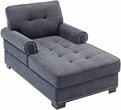 """Beaugreen 59"""" Chaise Lounge Modern Chaise Lounger with Thick Padding, Fashion Design for Bedroom Living Room Office"""
