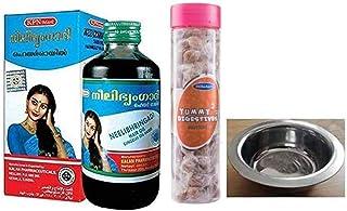 KPN 1 x Neelibhringadi Nilibhringadi Gingerly Oil, 200ml each bottle, With Free Dilbahars Yummy Digestives Manchali Imli 9...