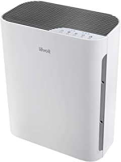 LEVOIT Air Purifier for Home with True HEPA Filter, Air Cleaner for Allergies and Pets, Smokers, Mold, Pollen, Dust, Quiet Odor Eliminators for Bedroom, 300 Sq. Ft, Vital 100