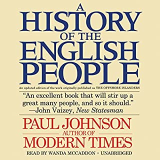 A History of the English People cover art