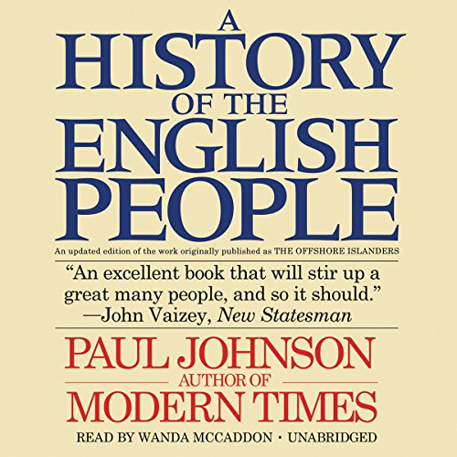 A History of the English People audiobook cover art