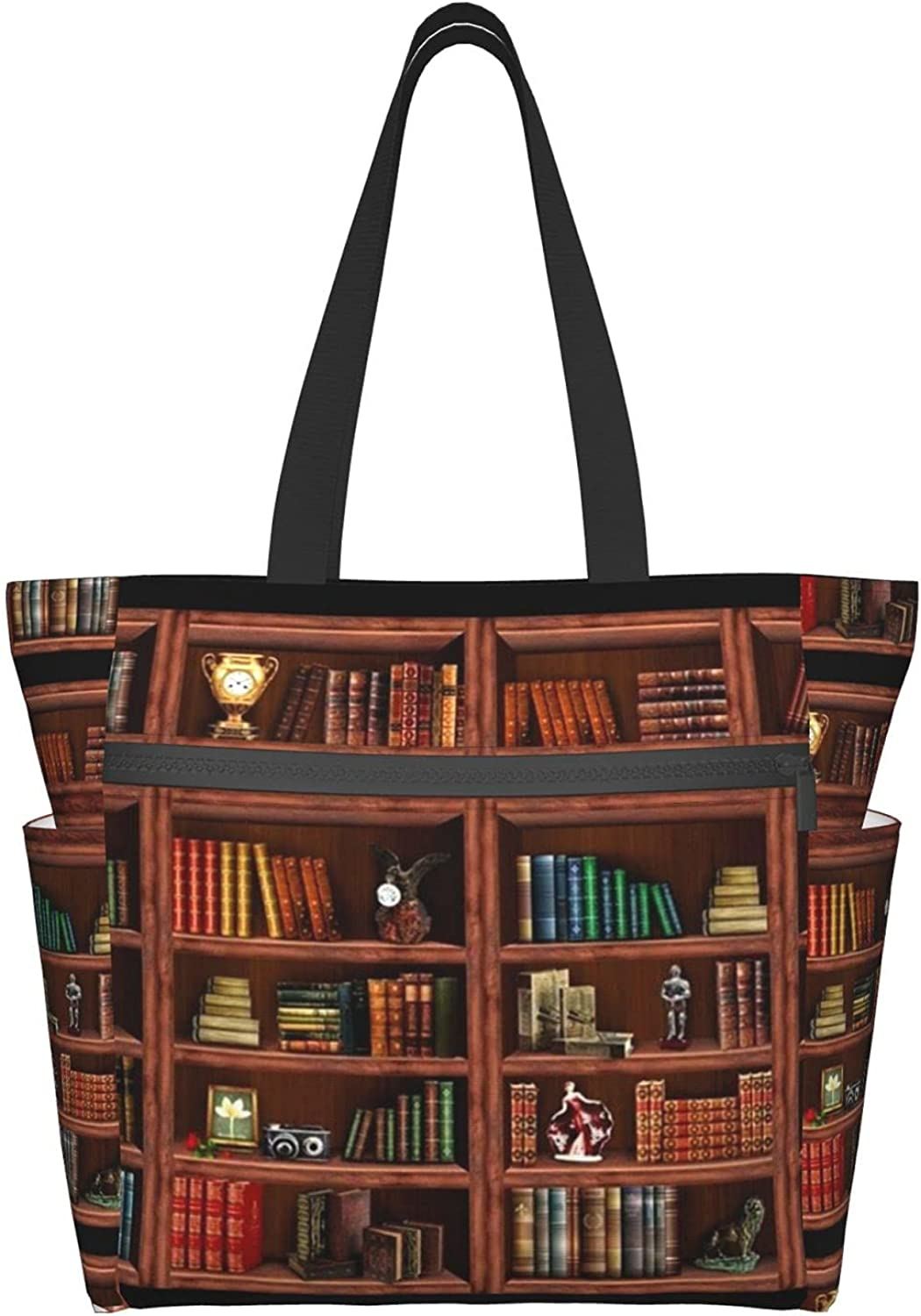 Tote Travel San Antonio Mall Bag For Limited Special Price Women Shoulder Retro With Bookcase Many