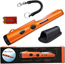 Fully Waterproof Pinpoint Metal Detector Pinpointer – Include a 9V Battery,..