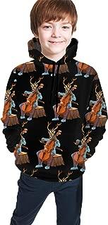 Boys & Girls Long Sleeves Hoodies Pullover Hooded Sweatshirts Slim Fit Outwear