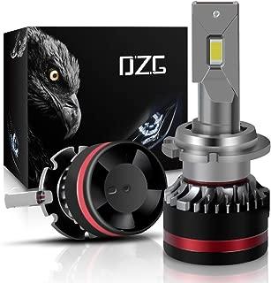 DZG D2S D2R D4S D4R LED Headlight Bulbs 6000K Bright White 2 Yr Warranty, 2 Pack