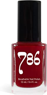 786 Cosmetics Agra - (Red) Vegan Nail Polish, Cruelty-Free, 11-Free, Halal Nail Polish, Fast-Drying Nail Polish, Best Red Nail Polish
