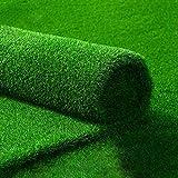 YYPOLP-Césped Artificial Green Lawn Mat 10 Mm De Espesor Falso Césped De Hierba Verde Artificial De Plástico Artificial De Alfombras Balcón Pared Decorativos (Color : High 1cm, Size : 2X3M)