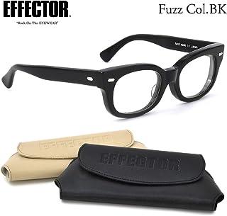 【EFFECTOR メガネ】エフェクター FUZZ BK メガネフレーム