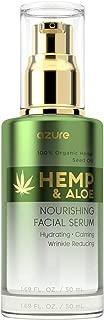 Hemp & Aloe Nourishing Facial Serum - Hydrating   Calming   Restores Skin Reducing Appearance Of Wrinkles and Fine Lines - 50mL