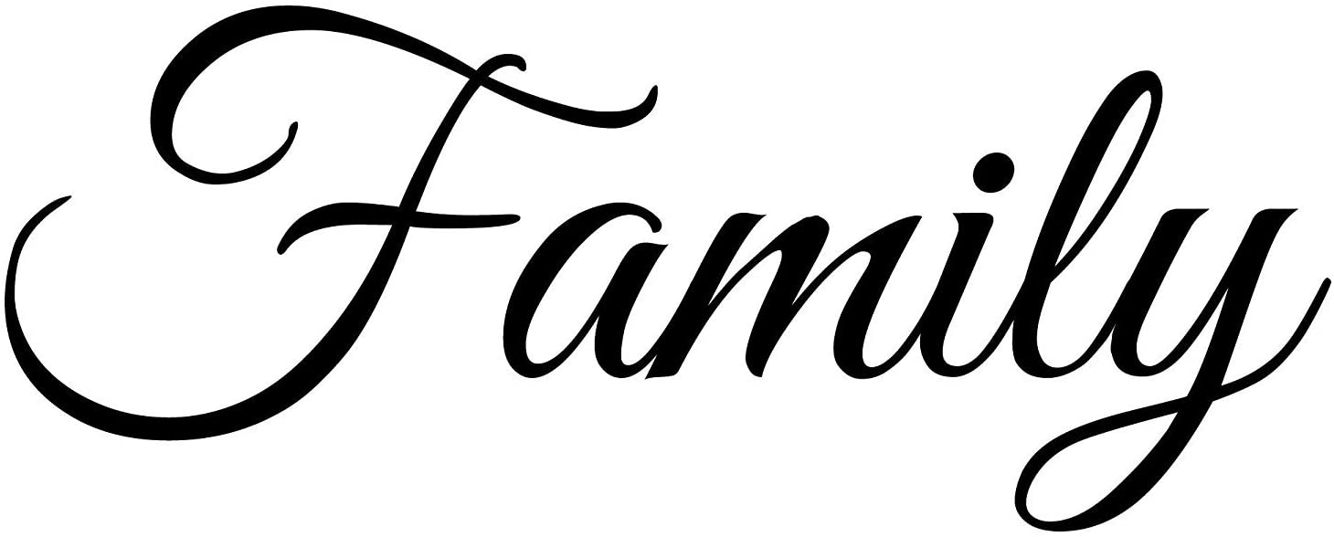 Family wall Quote,custom wall quote,Home Wall Decor,Vinyl Wall Decor #3 Famlies are everything Vinyl Wall Decal Design #1