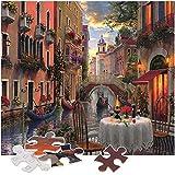 AivaToba Puzzle Classici 1000 Pezzi, Jigsaw Puzzle Venezia Paesaggi Marvel Puzzle Impossible Puzzle Incorniciabili Intelligence Puzzle da Pavimento per Adulti Bambini 70 * 50 CM
