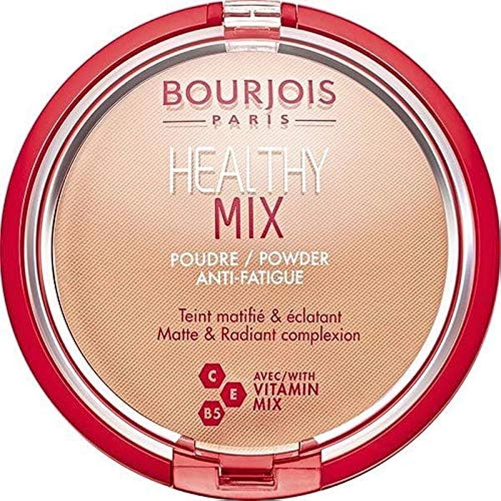圧縮レンズ学部[Bourjois ] ブルジョワヘルシーミックスは粉末3を押します - Bourjois Healthy Mix Pressed Powder 3 [並行輸入品]