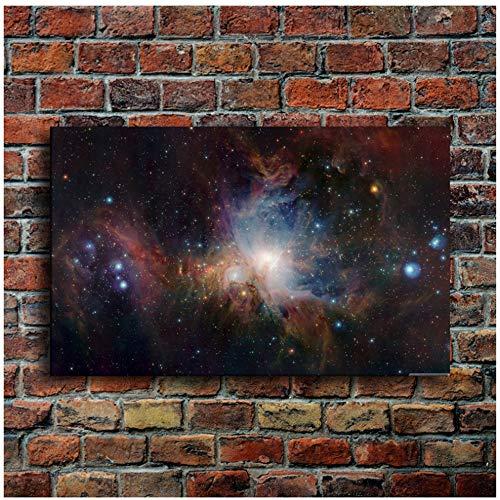 Foto's op canvas Posterafdrukken abstracte afbeeldingen muurkunst Orion sterrenbeeld mist sterrenhemel wooncultuur 30x40 cm/11.8