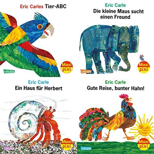 Maxi-Pixi-4er-Set 74: Eric Carle 90. Geburtstag (4x1 Exemplar) (74)