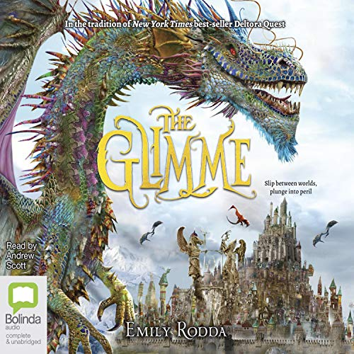 The Glimme audiobook cover art