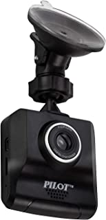 Pilot Automotive 720P Car DVR Dash Camera with 8GB SD Memory Card   120 Degree Wide Angle View, Motion Detection, Loop Rec...
