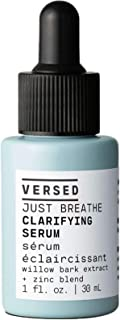 Versed Just Breathe Clarifying Face Serum 1 Fl. Oz! Formulated With Willow Bark Extract, Niacinamide And Zinc! Cruelty Fre...