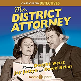 Mr. District Attorney audiobook cover art