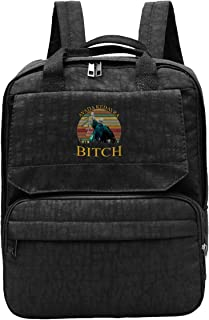 WUHONZS Travel Backpack Voldemort Avada Kedavra Bitch Gym Hiking Daypack College Laptop and Notebook Bag for Women & Men