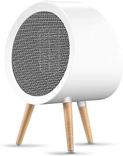 HBHHB 800W Calefactor De Aire Caliente 3 Modos Protección De Seguridad Silence Calefactor Pequeno Bajo Consumo para Cuarto/Baño/Oficina 206 * 176 * 187Mm