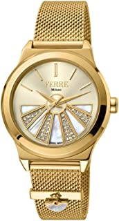 Ferre Milano Casual Watch For Women Analog Stainless Steel - FM1L125M0051