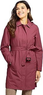 Women's Hooded Waterproof Long Raincoat