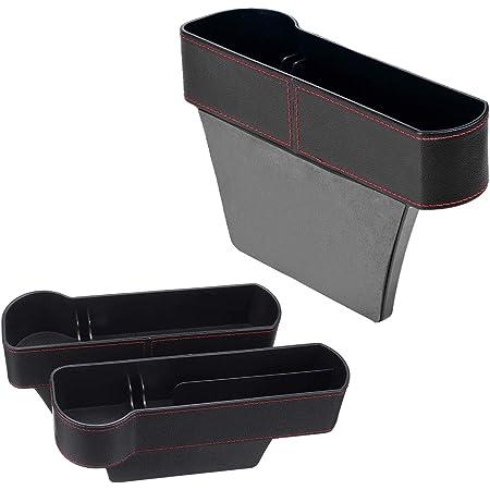 Tasche a fessura della sedile Car Seat Gap Filler Destra Car Seat Gap Storage Organizer Vano Portaoggetti per Auto Scatola portaoggetti per seggiolino auto