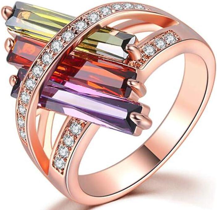 Jude Jewelers Rhodium-Plated-Brass Cubic-Zirconia