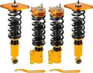 maXpeedingrods Coilovers ajustáveis para Nissan Sentra B15 / Sunny N16 2000-2006 Conjunto de amortecedores de mola de bobina