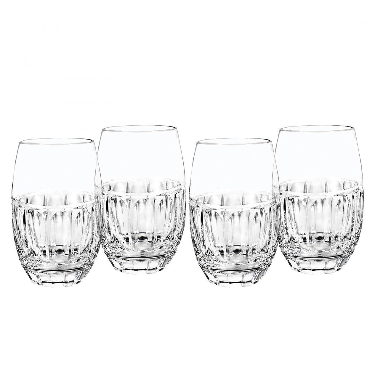コテージ効能増幅器ボルトンStemlessワインガラス、4のセット、by Waterford
