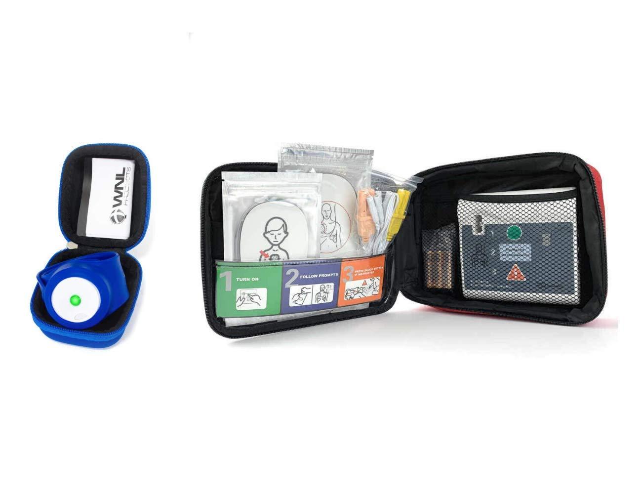 Over item handling ☆ Max 77% OFF WNL Products WL120ES10 WLCRM Defibrillator AED Practi- Bundle: