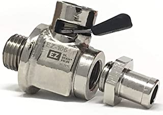 EZ-106 EZ Oil Drain Valve with removable Hose End Combo