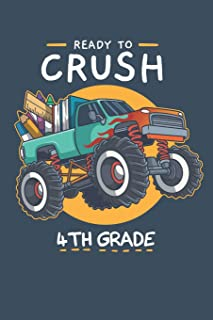 Ready To Crush 4th Grade: Week to Page Academic Diary Planner July 2019 - June 2020
