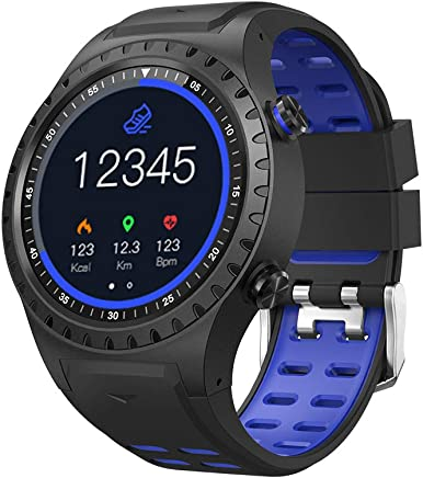 Amazon.com: Cool-M1 GPS Sport Watch Fitness Tracker Smart Watches for Men with Heart Rate Monitor Pedometer Watch IP67 Waterproof Level Watch (Blue): Cell ...