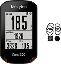 Bryton Rider 320E GPS Bike Cycling Computer. Simple but Powerful. Support 5 Satellite Systems. 35hrs Long Battery Life. Su...