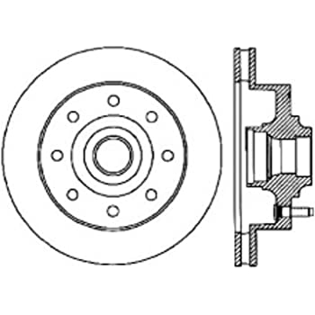 Front Right StopTech 127.45040R Sport Drilled//Slotted Brake Rotor 1 Pack