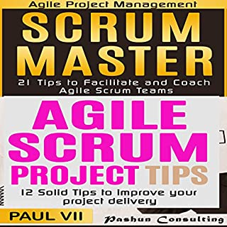 Scrum Master Box Set: 21 Tips to Coach and Facilitate & 12 Solid Tips for Project Delivery Titelbild