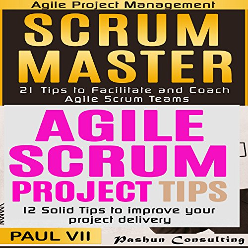 Scrum Master Box Set: 21 Tips to Coach and Facilitate & 12 Solid Tips for Project Delivery audiobook cover art