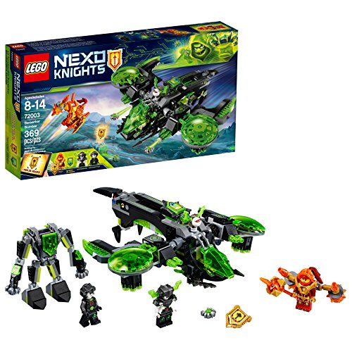 LEGO NEXO KNIGHTS Berserker Bomber 72003 Building Kit (369...