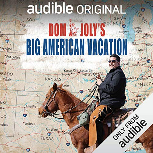 Dom Joly's Big American Vacation cover art