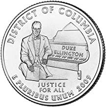 2009 P District of Columbia State Quarter Choice Uncirculated