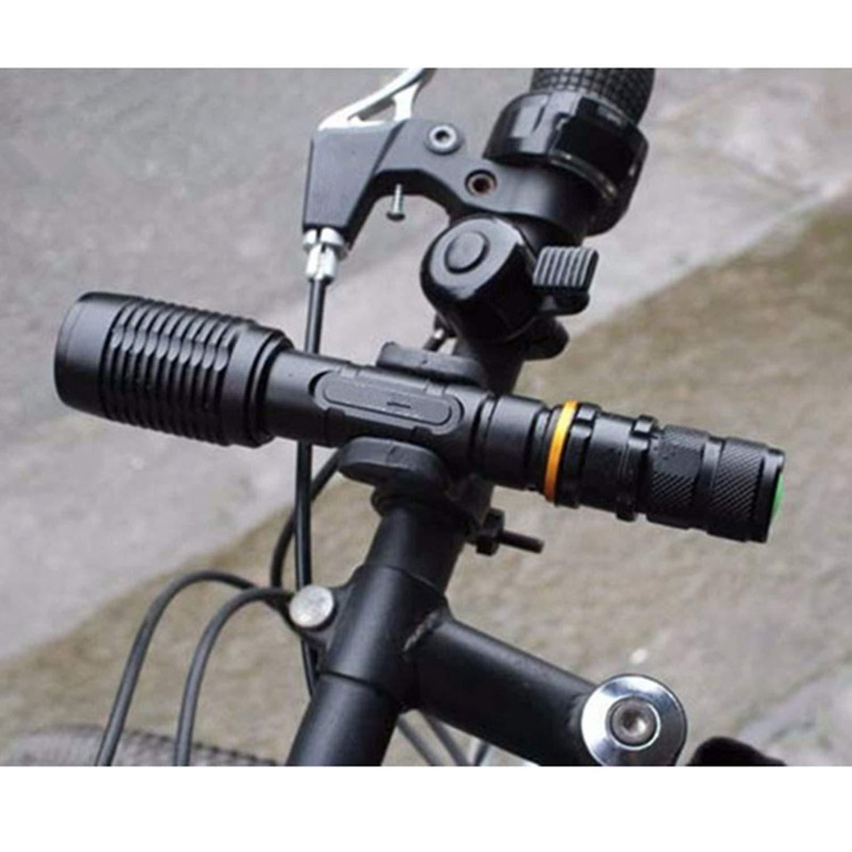 Zoomable XML T6 L2 Police Zoom Lampe torche de vélo Lampe